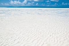 Belle plage de Zanzibar Photographie stock libre de droits