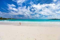 Belle plage des Caraïbes Photo stock