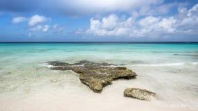 Belle plage des Caraïbes tropicale Photos libres de droits