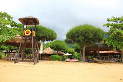 Belle plage exotique du Vietnam Photo libre de droits