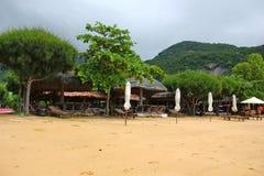 Belle plage exotique du Vietnam Image libre de droits