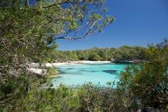 Belle plage isolée Images libres de droits