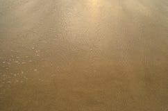 Belle plage sablonneuse Images stock