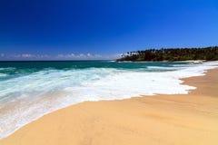 Belle plage, Tangalle, Sri Lanka Images stock