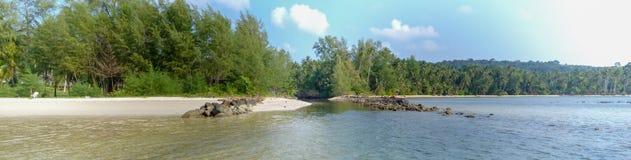 Belle plage tropicale à l'île de Koh Kood, Thaïlande Photographie stock