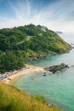 Belle plage tropicale à Phuket. La Thaïlande Image stock