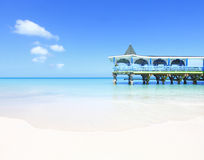 Belle plage tropicale Image stock