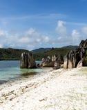 Belle plage tropicale photos stock