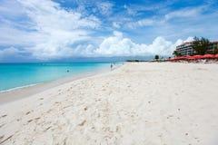 Belle plage tropicale Images libres de droits