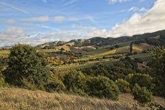 Belle plantation en backroads de Marin County photographie stock libre de droits