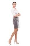 Belle position de femme images stock