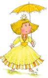 Belle princesse Images libres de droits