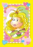 Belle princesse Photographie stock