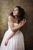 Belle princesse rêveuse Photographie stock