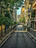 Belle promenade vers Salonique Photographie stock libre de droits