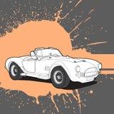 Belle rétro voiture Images libres de droits