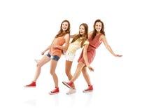 Belle ragazze Fotografie Stock