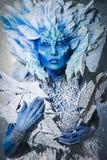Belle reine de neige Images stock