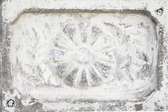 Belle retro mattonelle grige antiche d'annata del cemento Fotografia Stock Libera da Diritti