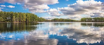 Belle riflessioni del lago Immagine Stock Libera da Diritti