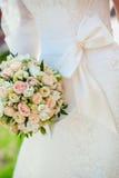Belle robe de mariage Photo stock