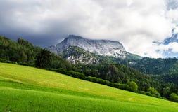 Belle rocce in alpi Fotografia Stock Libera da Diritti