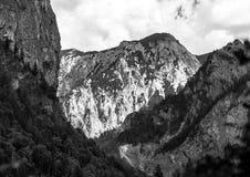Belle rocce in alpi Fotografia Stock