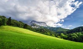 Belle rocce in alpi Immagini Stock