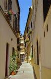 Belle rue à Cordoue, Espagne Image stock