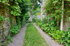 Belle ruelle de pays Photo libre de droits
