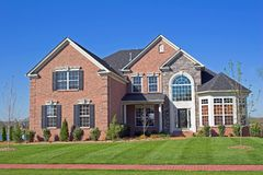 Belle série 1d de maisons Image stock