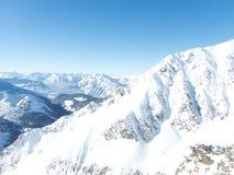 Belle saison d'hiver dans Kuhtai photos stock