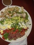 Belle salade de poulet de fromage bleu photo libre de droits