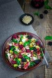 Belle salade saine Images libres de droits