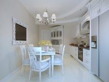 Belle salle à manger de luxe Images stock