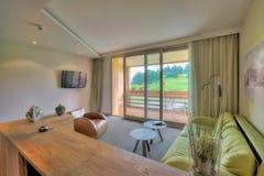 Belle salle de séjour Image stock