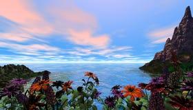 Belle scène tropicale Photos stock