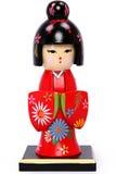 Belle schiaccianoci di festa della ragazza di geisha immagine stock