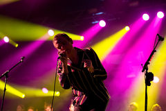 Belle and Sebastian (band) performs at Primavera Sound 2015 Stock Image