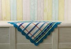 Belle serviette colorée photos stock