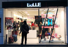 Belle shop in hong kong Stock Photo