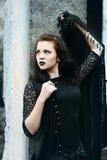 Belle sorcière moderne Photographie stock
