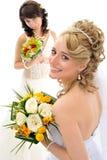 Belle spose fotografie stock libere da diritti