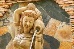 Belle statue de femme Photo libre de droits