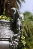 Belle statue de sculpture en style Antic de la Grèce d'ange Image libre de droits