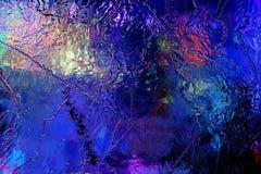Belle structure colorée de glace photo libre de droits