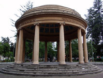 Belle structure voûtée, Templo de Música Photographie stock