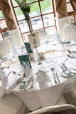 Belle table de mariage photos libres de droits