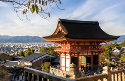 Belle tempie giapponesi Fotografia Stock