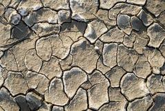 Belle texture d'argile sec Photo stock